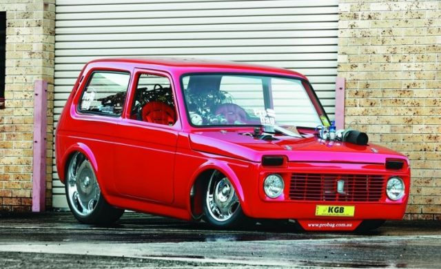 Lada Niva To The Races