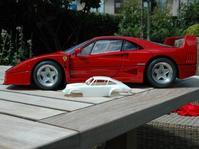 Precision Miniature Ferrari F40