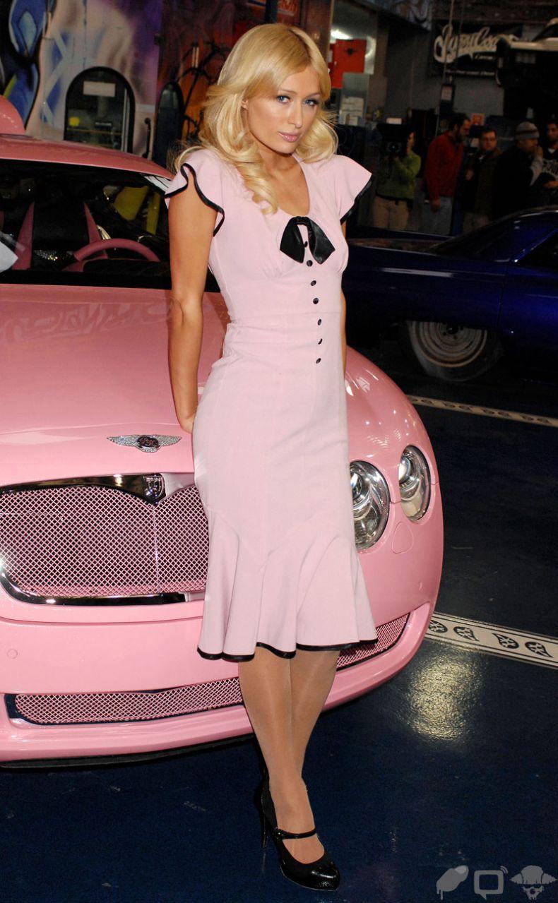 Barbie Car Bentley Continental With Paris Hilton