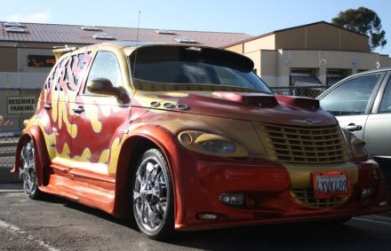 funny chrysler pt cruiser. Black Bedroom Furniture Sets. Home Design Ideas